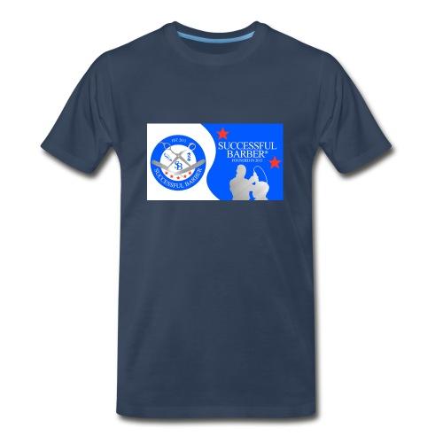 Official Successful Barber - Men's Premium T-Shirt