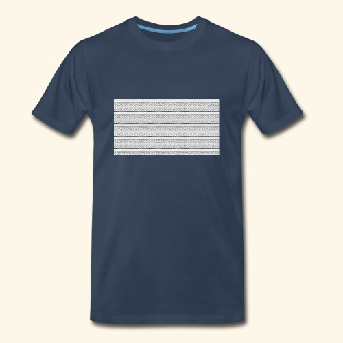 SLICK SLACK POLY'S ON THE BACK - Men's Premium T-Shirt