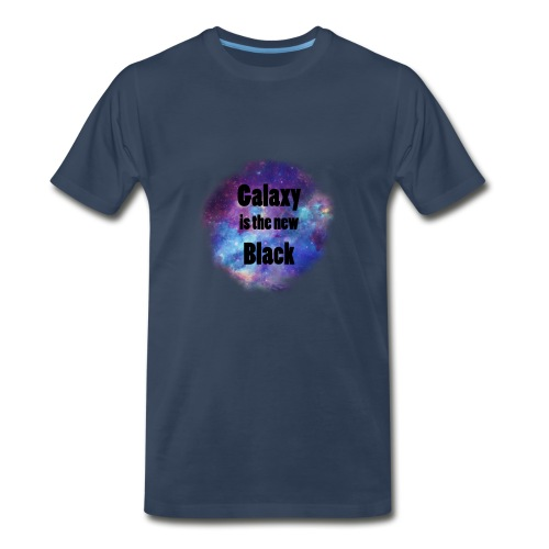 Galaxy is the new Black - Men's Premium T-Shirt