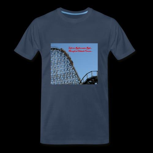 Life is a Rollercoaster Ride... - Men's Premium T-Shirt