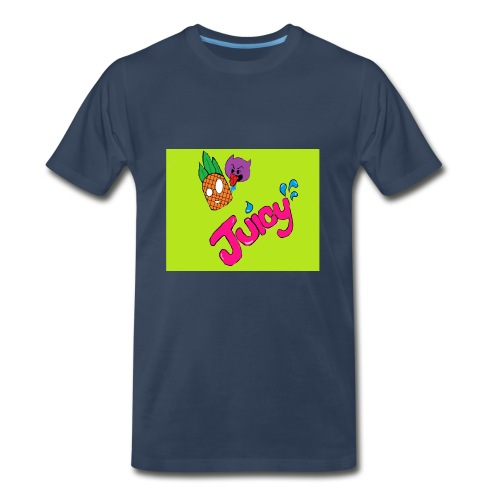 Juicy lime green - Men's Premium T-Shirt