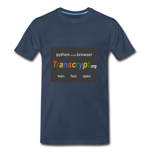 Transcrypt Logo - Men's Premium T-Shirt