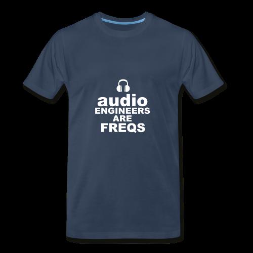 Audio Freqs - Men's Premium T-Shirt