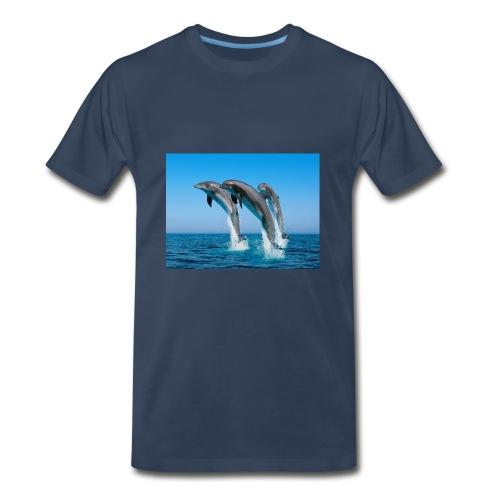 Dolphin Brand - Men's Premium T-Shirt