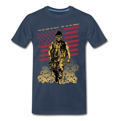 Skull Soldier - Men's Premium T-Shirt