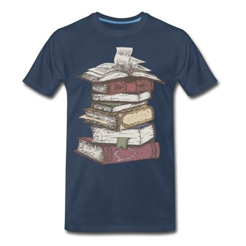 I Love Books - Men's Premium T-Shirt