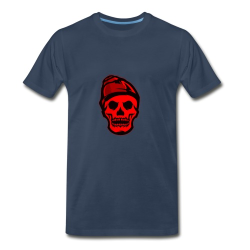 RED Skeleton HaHaHaHa - Men's Premium T-Shirt
