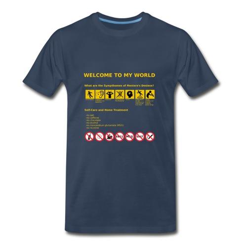 Meniere's Desease MD - Men's Premium T-Shirt
