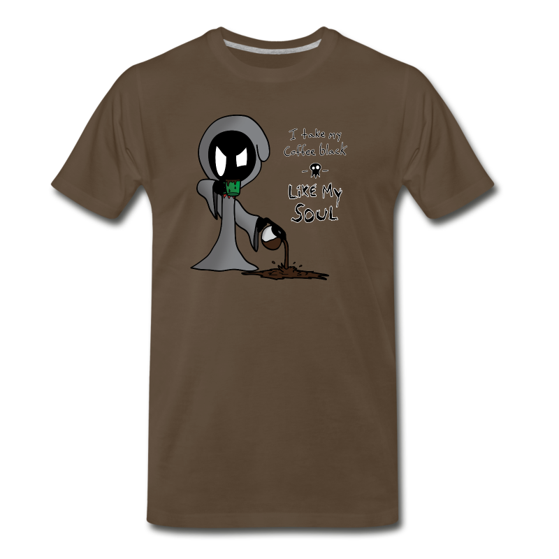 Grim Coffee - Men's Premium T-Shirt