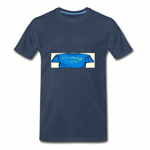 Q's Simply T's - Men's Premium T-Shirt