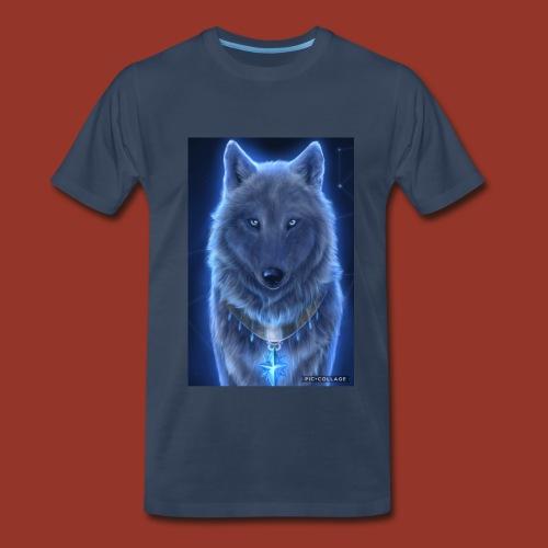 WolfyRaps4life - Men's Premium T-Shirt