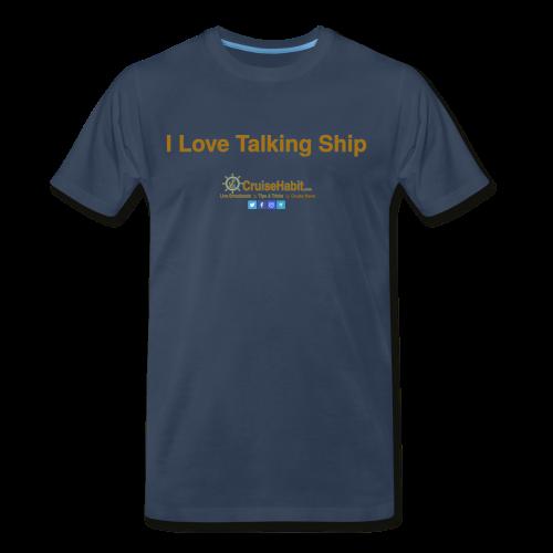 I love talking ship! - Men's Premium T-Shirt