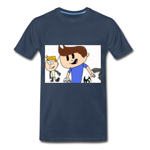 ThMichaelKidsTV Old School Logo!!! - Men's Premium T-Shirt