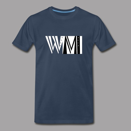 WALLSMAFIAwhite - Men's Premium T-Shirt