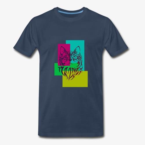 cats lover1 - Men's Premium T-Shirt