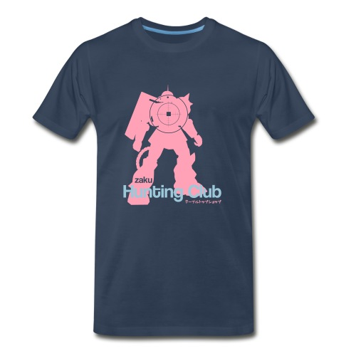 Zaku Hunting Club - Men's Premium T-Shirt