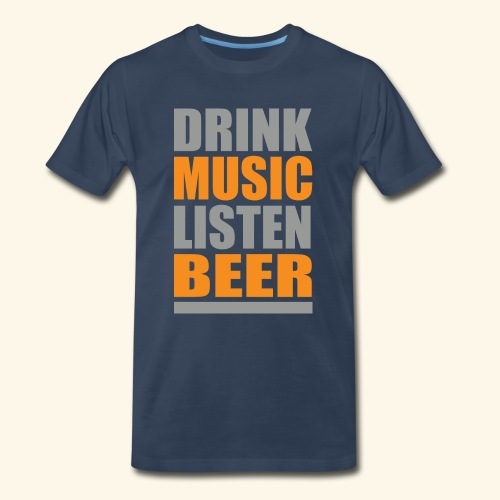 Drinkbeer TEE - Men's Premium T-Shirt