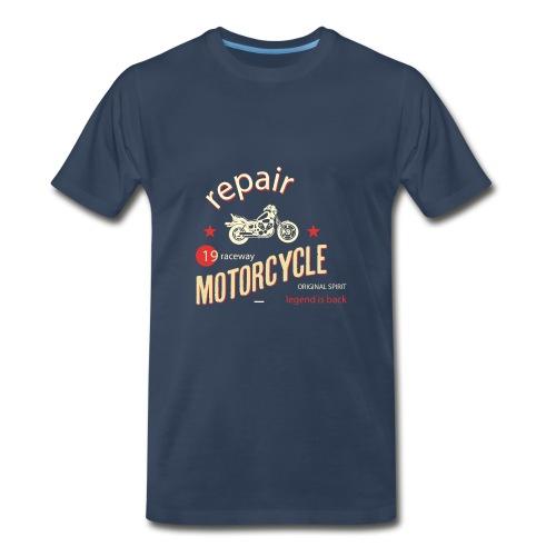 Motorcycle Repair - Men's Premium T-Shirt