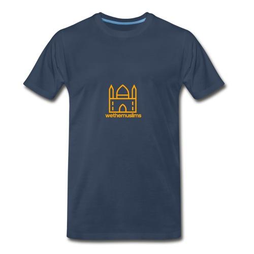 WeTheMuslims Official Merchandise - Men's Premium T-Shirt