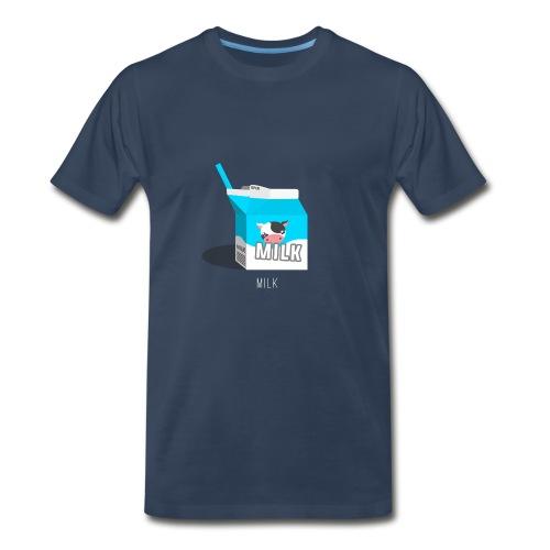 Milk - Men's Premium T-Shirt