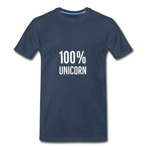 100% unicorn - Men's Premium T-Shirt