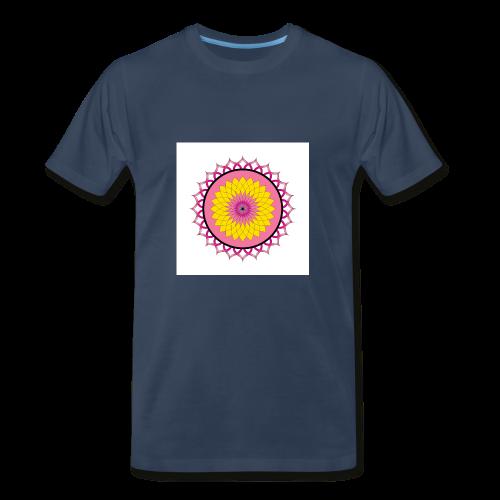 Lotus Flower Mandala - Men's Premium T-Shirt