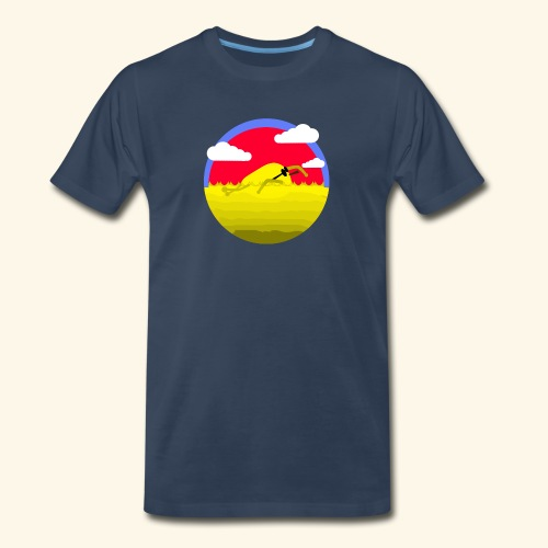 mango sweeming - Men's Premium T-Shirt