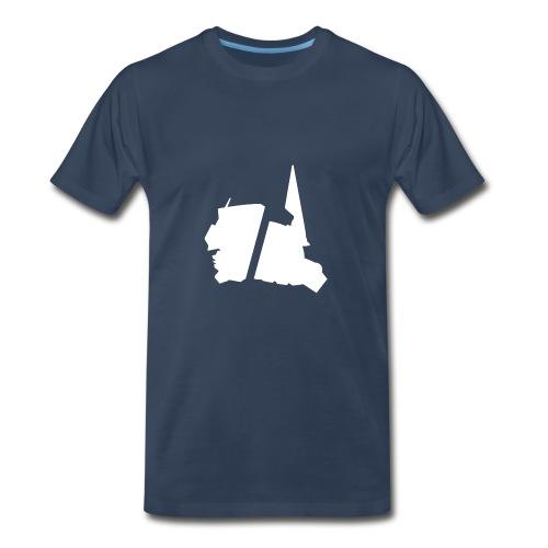 GBA_icon_white - Men's Premium T-Shirt
