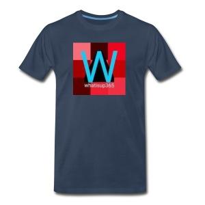 Whatisup365's logo 2014-2015 - Men's Premium T-Shirt