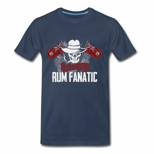 Rum Fanatic T-shirt - Hamilton, Bermuda - Men's Premium T-Shirt