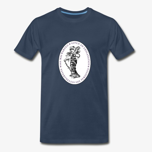 She Persisted Suffragette Premium - Men's Premium T-Shirt
