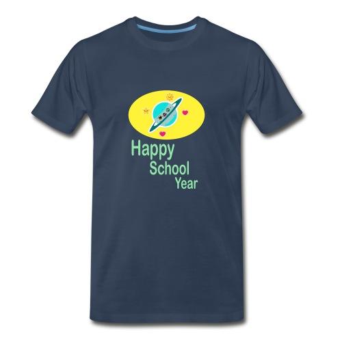 happy school year - Men's Premium T-Shirt