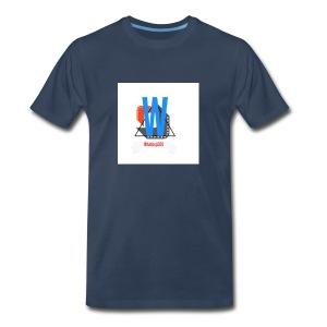 Whatisup365's logo 2016-2017 - Men's Premium T-Shirt