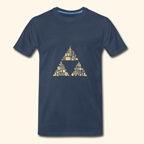 Zelda Triforce - Men's Premium T-Shirt