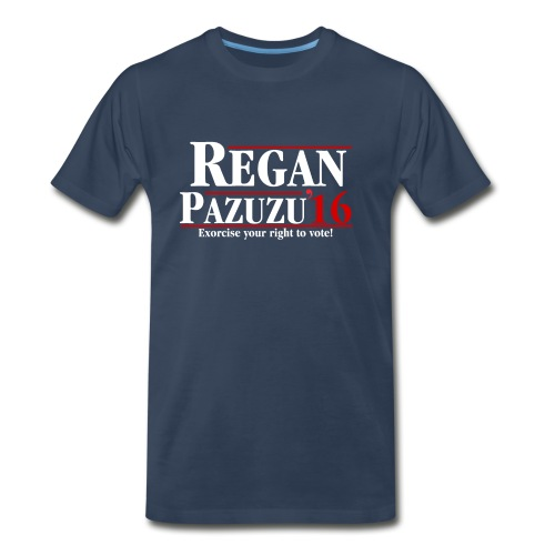 Regan Pazuzu Campaign Shirt - Men's Premium T-Shirt