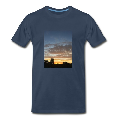 nuclear sunset - Men's Premium T-Shirt