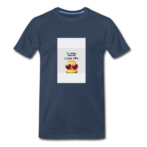 smiling - Men's Premium T-Shirt