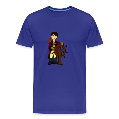 Alex the Great - Pirate - Men's Premium T-Shirt