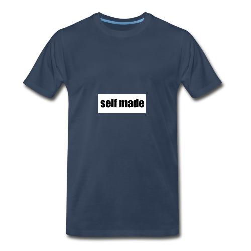 self made tee - Men's Premium T-Shirt