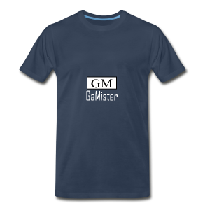 gamister_shirt_design_1_back - Men's Premium T-Shirt