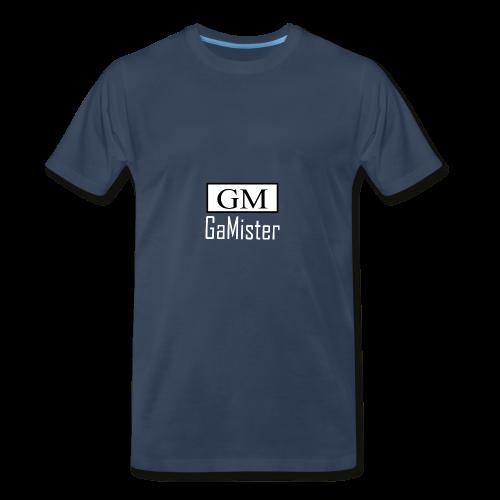 gamister_shirt_design_1_back - Men's Premium T-Shirt