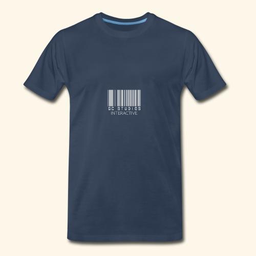 GCSTUDIOSINTERACTIVE WHITE LOGO - Men's Premium T-Shirt