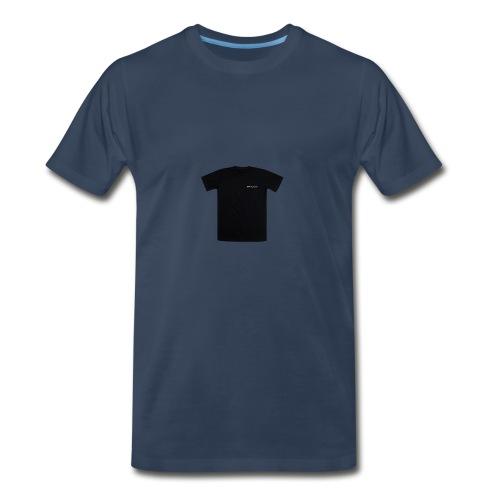 black spacex back 2 1 - Men's Premium T-Shirt