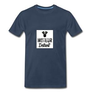 Black and White Motuer - Men's Premium T-Shirt