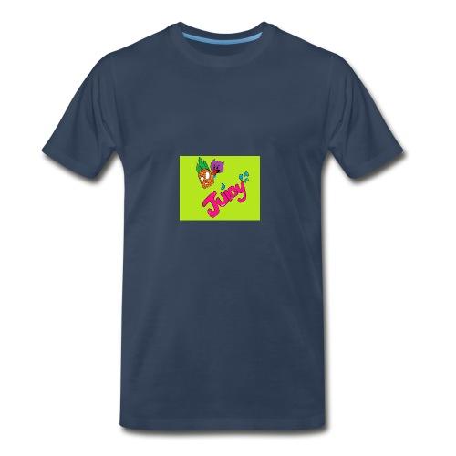 Juicy lime green - Men's Premium T-Shirt