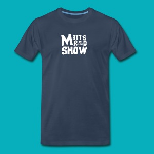 Matt's Rad Show. Logo. - Men's Premium T-Shirt