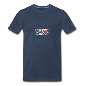 Homicide And Chill - Men's Premium T-Shirt
