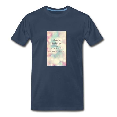 No words - Men's Premium T-Shirt