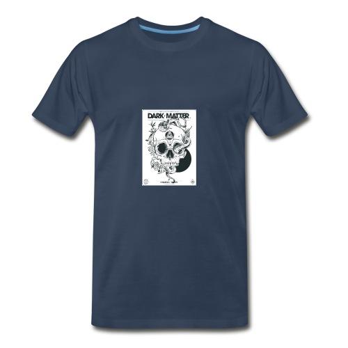 Flowery-Skull - Men's Premium T-Shirt
