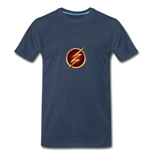 Flash Logo - Main Channel - Men's Premium T-Shirt